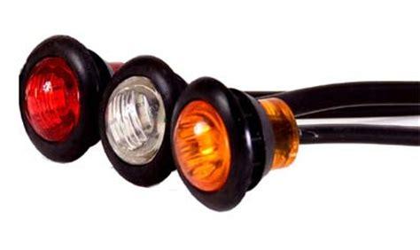 led trailer marker lights 3 4 quot led marker and clearance light led trailer lights