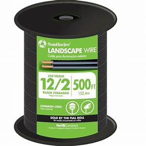 Southwire ft black stranded al use wire