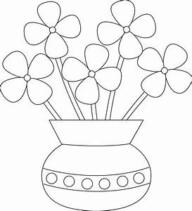Gallery: Flower And Vase Drawing For Kids, - DRAWING ART ...