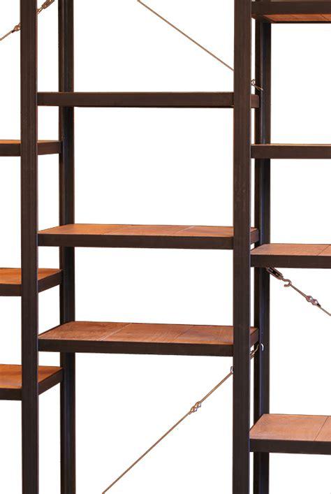 biblioth 232 que m 233 tal et bois massif les ateliers du 4
