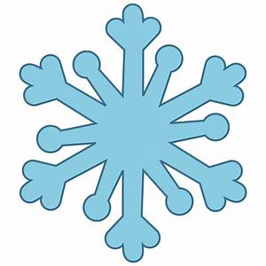Snowflake clipart free - ClipartPost