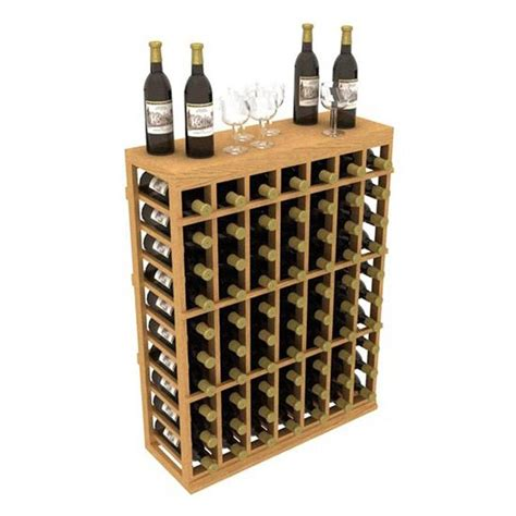 floor wine rack shop ironwine cellars stackables 70 bottle mahogany