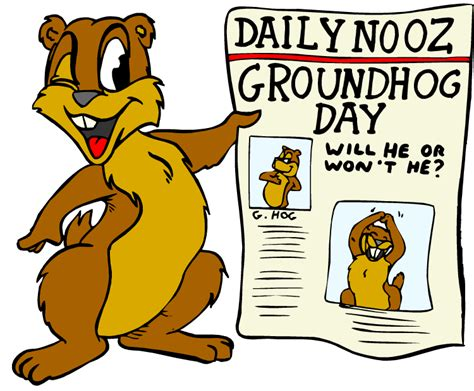 Groundhog Day Clipart Eoccs Technology February 2012