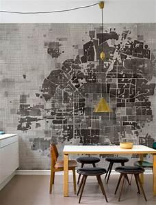 Wandgestaltung Ideen Küche : 100 beispiele f r eine tolle wandgestaltung ~ Markanthonyermac.com Haus und Dekorationen