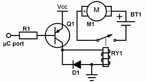 an intro to transistors and relays With intro to circuit