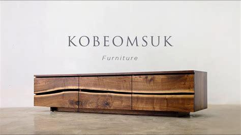 kobeomsuk furniture  edge tv stand youtube