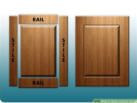 how to build raised panel cabinet doors how to make cabinet doors 9 steps with pictures wikihow
