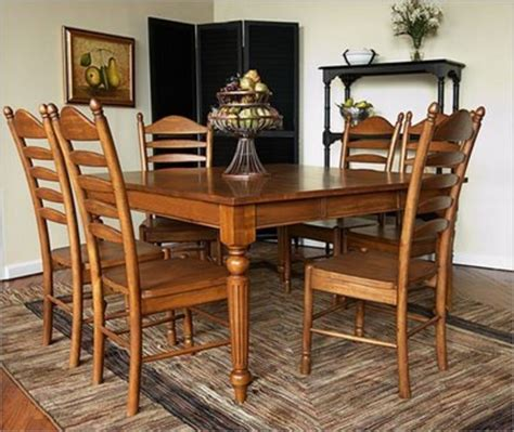 country dining room sets decor for country provincial dining sets