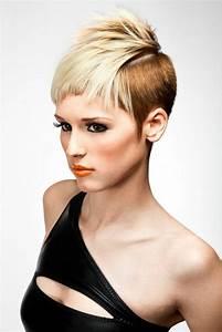 Coupe Cheveux Asymétrique : coupe courte femme ~ Melissatoandfro.com Idées de Décoration