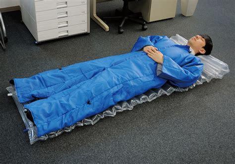 sleeping bag with air mattress wearable air mattress sleeping bag suit the green