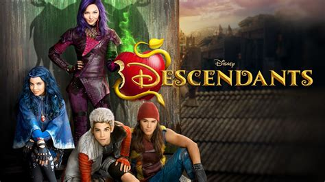 Disney Descendants Movie Posters In High Quality  Oh My