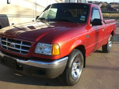 ford ranger xlt automatic buy used 2002 53k ford ranger xlt v6 automatic no reserve in fort worth