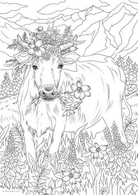 flowers printable adult coloring page  favoreads coloring book pages  adults