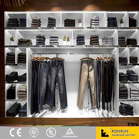 Boutique Moderne Meubles Vêtement Présentoir Pour La Vente