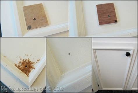 how to add knobs to kitchen cabinets kitchen cabinets updated with paint trim my repurposed 9282