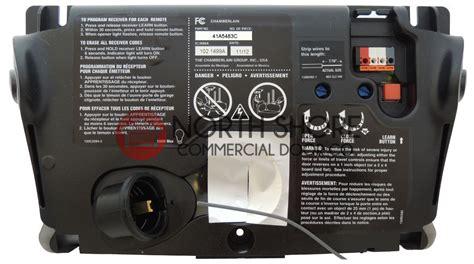 Mmtc Garage Door Opener Wiring Diagram by Craftsman 41a5483 2 Garage Door Opener Circuit Board