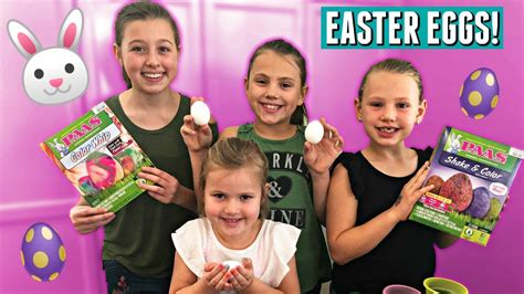 Is The Easter Bunny Real?! Decorating Easter Eggs Family
