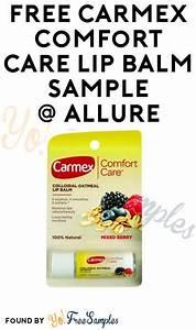 Free carmex comfort care lip balm sample verified for Free lip balm samples