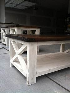 rustic x coffee table do it yourself home projects from With rustic x coffee table plans