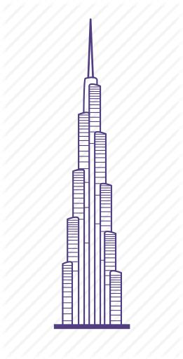 image result  burj khalifa  drawing burj khalifa