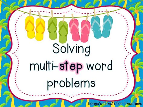 3rd Grade Multi Step Word Problems Worksheets Free Worksheets Library  Download And Print