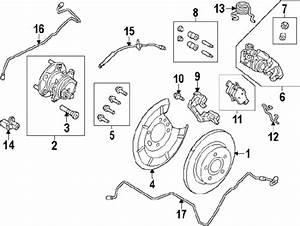 Ford Focus Rear Brake Diagram