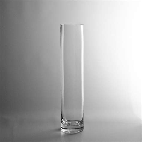 Cheap Vases by 12x2 5 Quot Glass Cylinder Vase 4 60 Pair With 16 Quot And 20