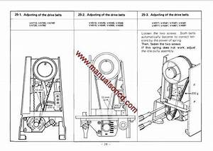 Brother Vx Series Sewing Machine Service Manual  Model