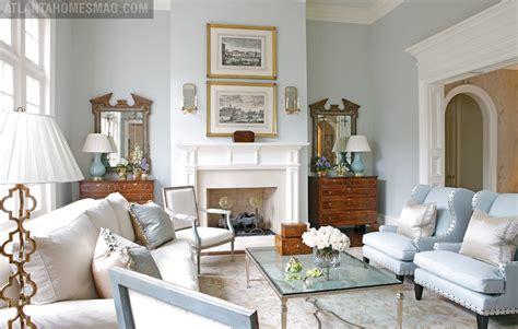 Divine Blue Georgian-Style Home of Designer Beth Elsey