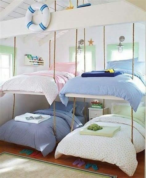 Saving Space With A Suspended Bedroom by This Would Be A Great Space Saving Idea How