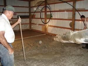 concrete slab  pole barn bryan ohio jeremykrillcom