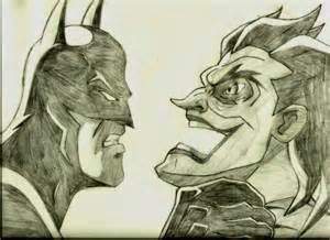 Batman vs Joker Drawings Pencil