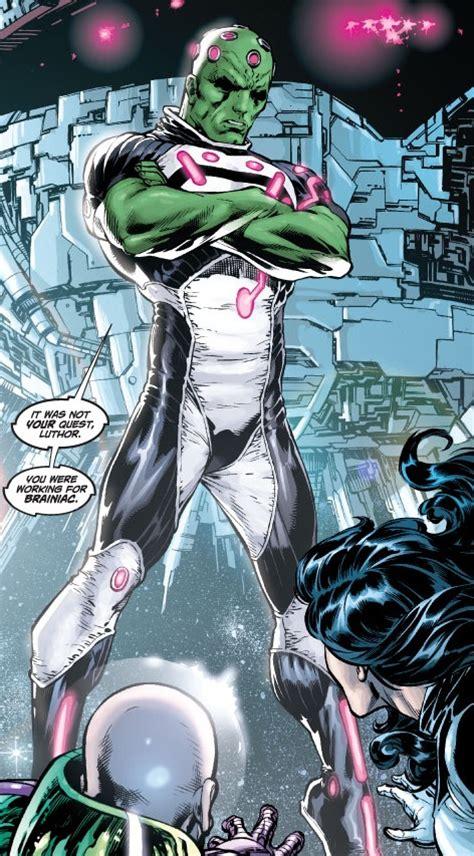 Brainiac vs The Leader - Battles - Comic Vine