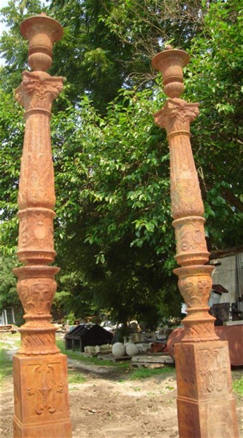 decorative cast iron posts recycling