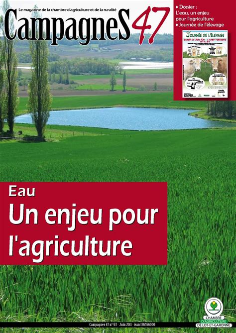 chambre agriculture 55 calam 233 o cagnes 47 n 176 67 juin 2011