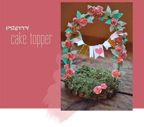 diy floral cake topper green wedding shoes wedding blog