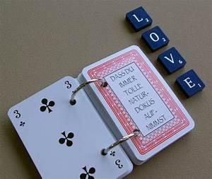 Kreative Geschenke Für Männer : 52 dinge die ich an dir liebe karten kartenspiel valentinstag geschenk selber basteln diy ~ Orissabook.com Haus und Dekorationen