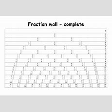 Fraction Walls By Primaryteacheruk  Teaching Resources Tes