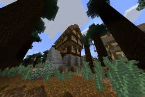 minecraft structure minecraft simple maison medievale
