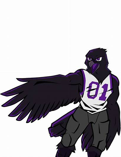 Ravens Ready Raven Campaign Mascot Awaits Pushes