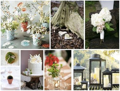rustic vintage inspiration board wedding decor