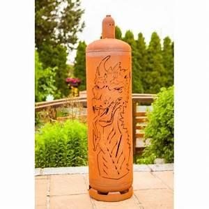 Feuerstelle Aus Gasflaschen : edelrost feuertonne gasflasche mit brennendem w rfel ~ A.2002-acura-tl-radio.info Haus und Dekorationen