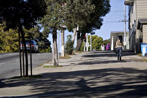 how wide is a sidewalk many sidewalks in san francisco are just too darn wide 171 san francisco citizen