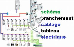 Tableau Electrique Schema : en video sch ma branchement c blage tableau electrique ~ Melissatoandfro.com Idées de Décoration