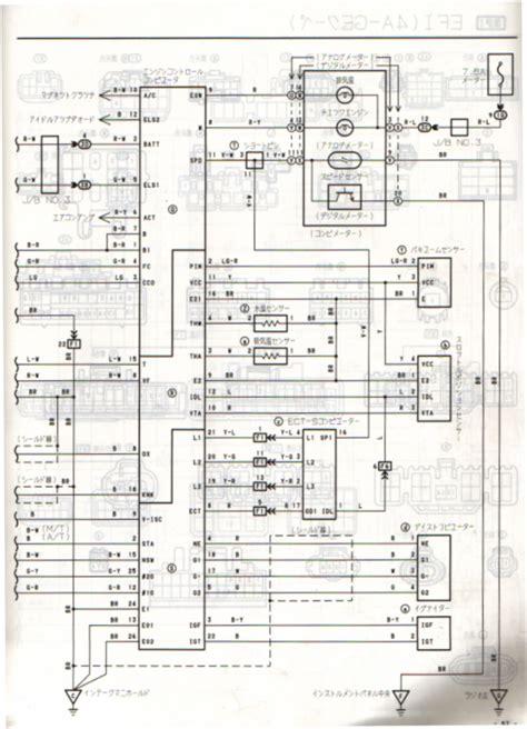 wiring diagram pdf blacktop toyota corolla engine bp ecu ae111 new volovets info