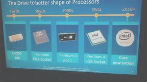 Intel 8th Generation Processors will be in Rounded Shape ...