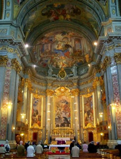 church  san ignazio  rome photo