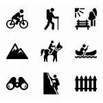 Outdoor Human Active Activity Icons Clipart Outdoors