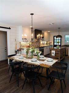 Chip, And, Joanna, Gaines, Decorating, Ideas, For, Dining, Rooms