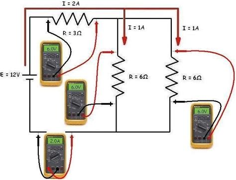 Ohm Law Series Parallel Circuits Calculation